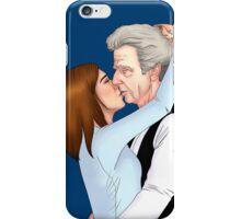 Whouffaldi kiss iPhone Case/Skin