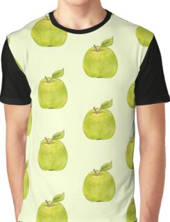 green apple Graphic T-Shirt