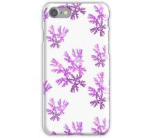 Purple leaves iPhone Case/Skin