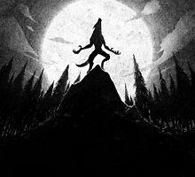 Drawlloween 2013: Werewolf by brianluong