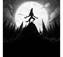 Drawlloween 2013: Werewolf Photographic Print