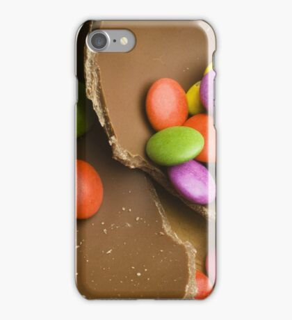 Chocolate Easter eggs and Smarties iPhone Case/Skin