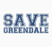 Save Greendale (Distressed) Kids Clothes