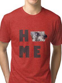 """Iowa """"HOME"""" Tri-blend T-Shirt"""