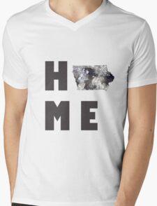 "Iowa ""HOME"" Mens V-Neck T-Shirt"
