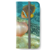 Sea anemone and anemonefish Pacific ocean iPhone Wallet/Case/Skin