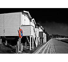 Beach huts in Essex Photographic Print
