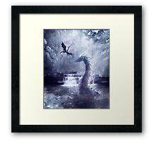 Ice Dragons Framed Print