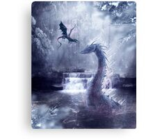 Ice Dragons Canvas Print