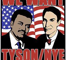 Tyson / Nye 2016 by WFLAtheism