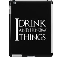 I know it all 2 iPad Case/Skin
