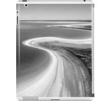 Salt lake shoreline iPad Case/Skin