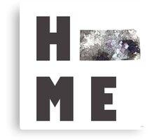 "Kansas ""HOME"" Canvas Print"