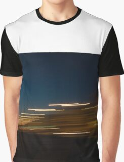 Sunset with lights Graphic T-Shirt