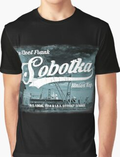 Re-Elect Frank Sobotka - the Wire Graphic T-Shirt