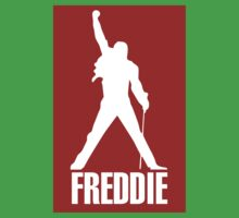 Freddie Mercury Queen's Singer Silhouette Kids Tee