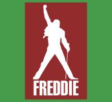 Freddie Mercury Queen's Singer Silhouette One Piece - Short Sleeve