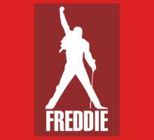 Freddie Mercury Queen's Singer Silhouette Baby Tee