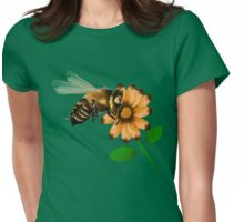 Happy Spring Bee  Womens Fitted T-Shirt