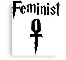 Wizardly Feminist Canvas Print