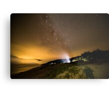 Milky Way Camping Metal Print