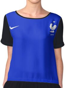 Euro 2016 Football - france Chiffon Top