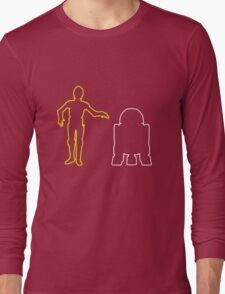 C-3PO And R2-D2 Long Sleeve T-Shirt