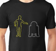 C-3PO And R2-D2 Unisex T-Shirt