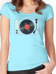 "The Song That Goes ""Na Na Nana"" Women's Fitted Scoop T-Shirt"