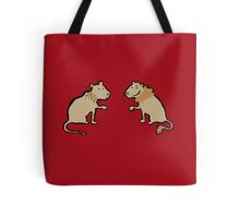 good hair - bad hair lions Tote Bag