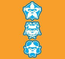 Three Cute Samurai Unisex T-Shirt