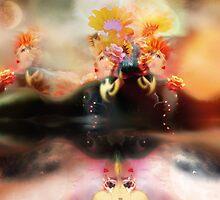 Reflective Recline [Digital Figure Illustration] by Grant Wilson