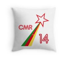 CAMEROON STAR Throw Pillow