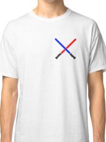 Lightsaber Battle Classic T-Shirt