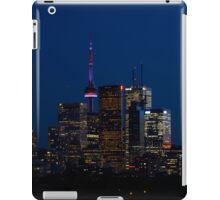Indigo Sky and Toronto Skyline iPad Case/Skin