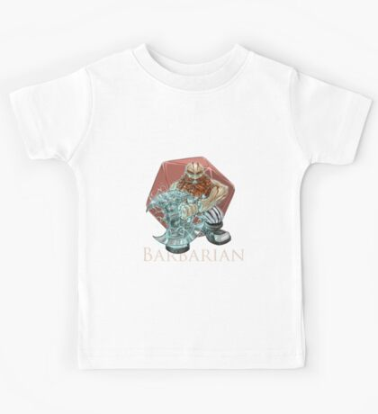 Dungeons and Dragons Barbarian Kids Tee
