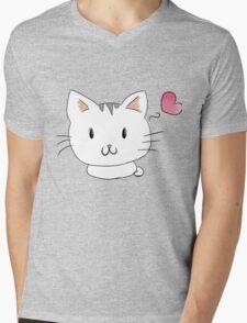 kitten <3 Mens V-Neck T-Shirt