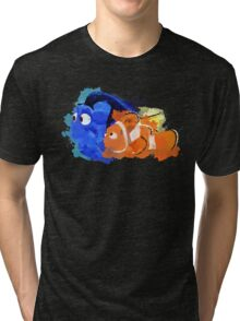 Dory and Marlin Tri-blend T-Shirt