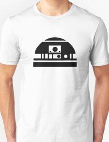 R2-D2 - Black Unisex T-Shirt