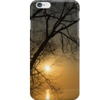 The Rising Sun and the Tree iPhone Case/Skin