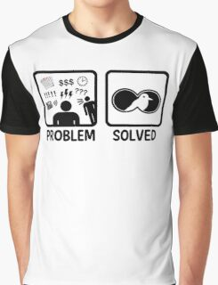 Funny Bird Watching Problem Solved Graphic T-Shirt