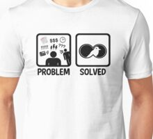 Funny Bird Watching Problem Solved Unisex T-Shirt
