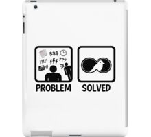 Funny Bird Watching Problem Solved iPad Case/Skin