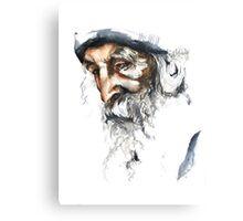 FACE#5 Canvas Print