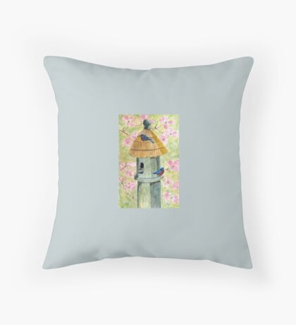 A Cottage For Two Throw Pillow