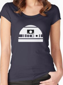 R2-D2 - White Women's Fitted Scoop T-Shirt