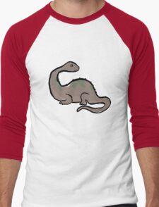 triassic tedium Men's Baseball ¾ T-Shirt
