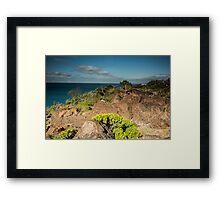 Double Island Point Headland Framed Print