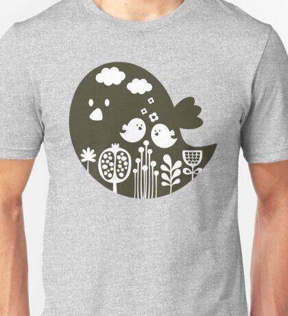 Birds and grass Unisex T-Shirt