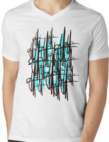 Scribe Signature Mens V-Neck T-Shirt